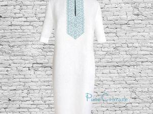 Платье футляр с вышивкой. Ярмарка Мастеров - ручная работа, handmade.