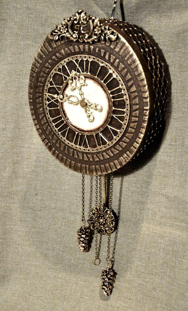 Создаем сказочные декоративные часы для большой елки, фото № 30