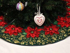 Юбка под новогоднюю ёлку 2019. Ярмарка Мастеров - ручная работа, handmade.