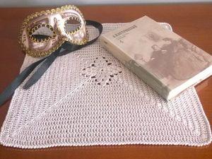 Салфетка крючком: старым методом с новым видением. Ярмарка Мастеров - ручная работа, handmade.