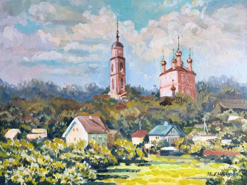 православие, живопись в радость, купить картину в москве