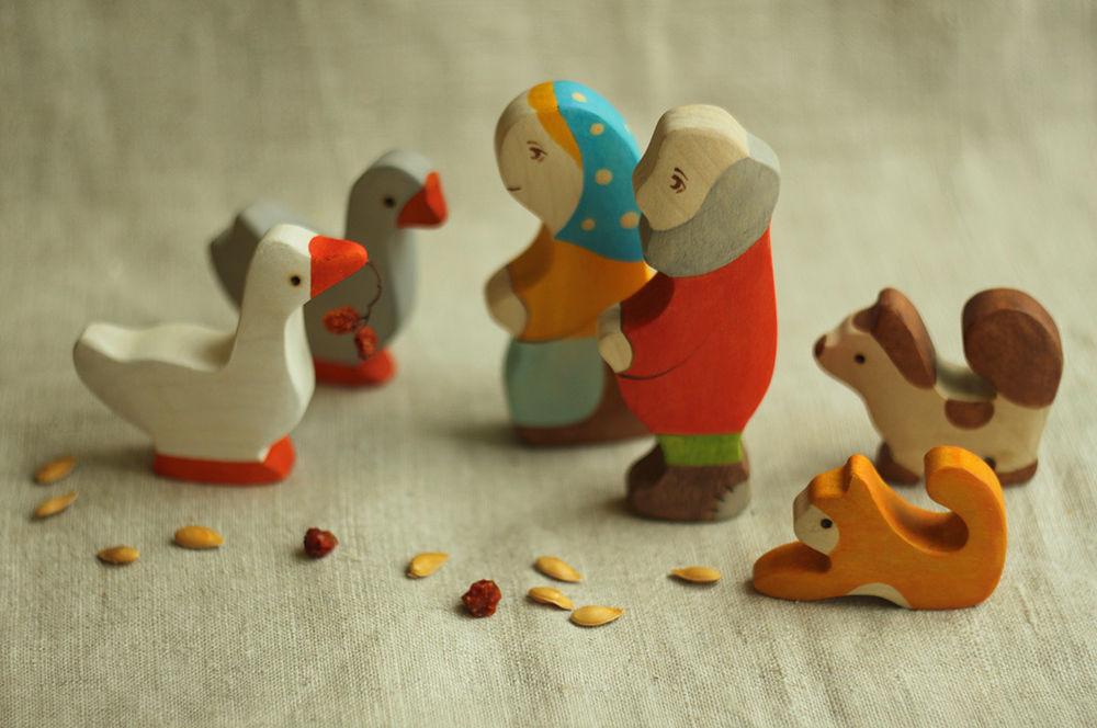 игрушки для детей, игрушки из дерева, сказки, новинка магазина