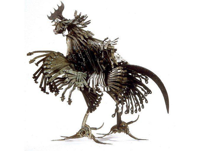 Животные из металла французского скульптора Edouard Martinet, фото № 6