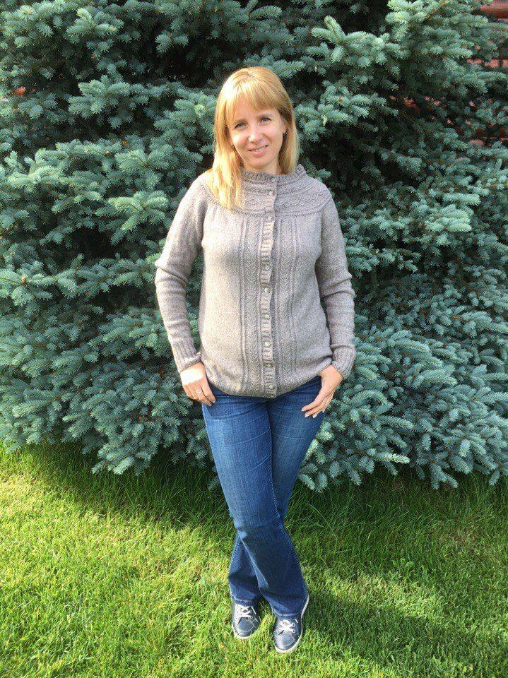 кардиган, як, сталь, шерсть, handmade, вязание, knitting