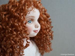 Виола, коллекционная текстильная кукла. Ярмарка Мастеров - ручная работа, handmade.