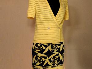 Аукцион сегодня, завтра. Костюм желтые розы со стразами. Ярмарка Мастеров - ручная работа, handmade.