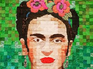 Grand Patchwork Festival Captivated with Chagall and Frida. Livemaster - handmade