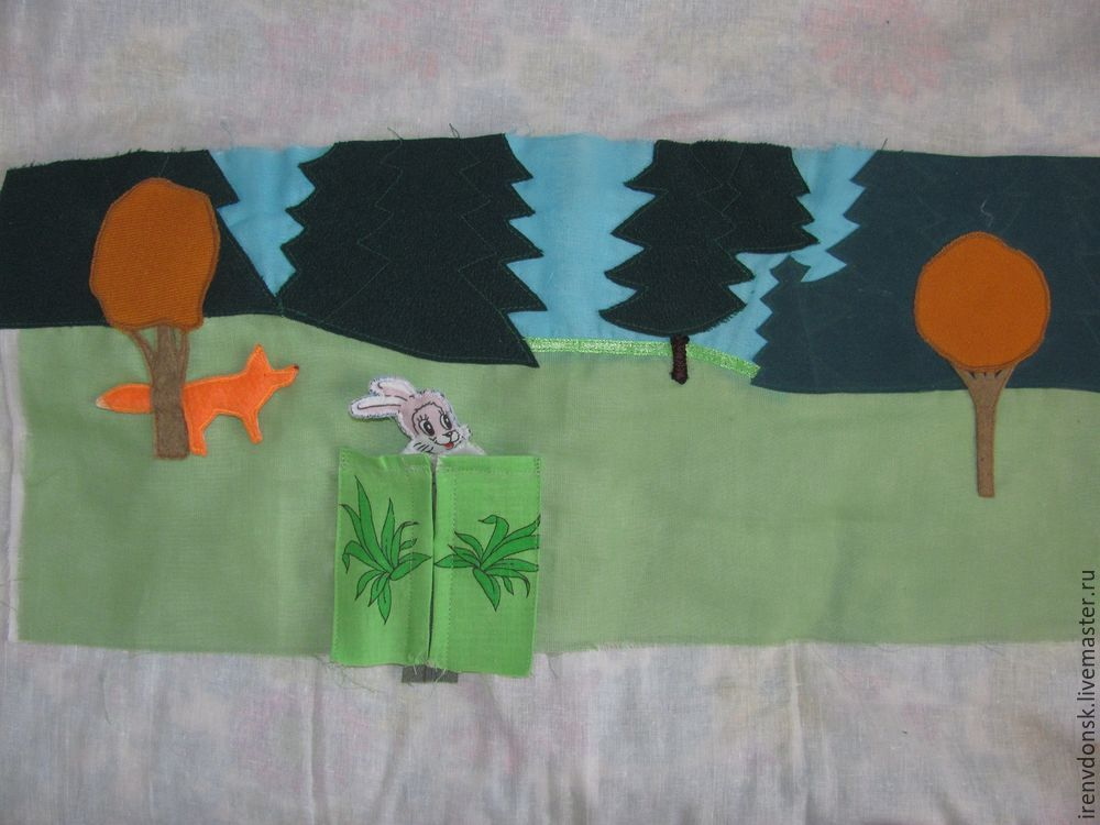 развивающий коврик, мк для начинающих