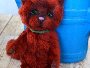 Рыжий кот хулиган | Ярмарка Мастеров - ручная работа, handmade