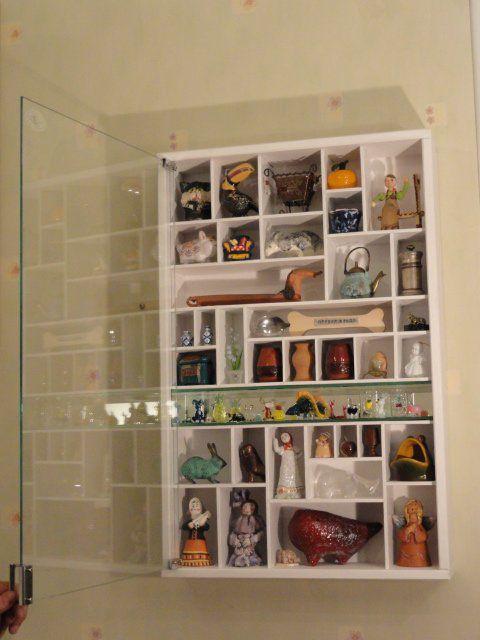 Коллекционерам или шкафчик для маленьких радостей - Ярмарка .
