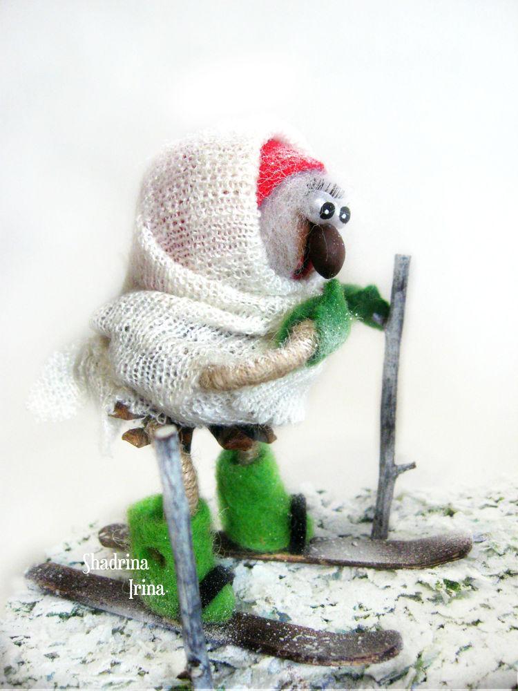из дерева, подарок на новый год, подарок, зима, природные материалы