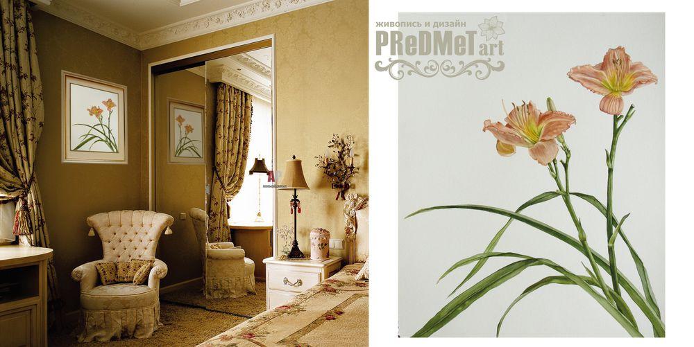 картины для интерьера, цветы акварелью, кремовый, теплый, ботаническая живопись, подарок женщине, украшение интерьера, дизайн интерьера