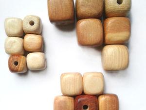 БОЛЬШАЯ скидка на кубики из можжевельника | Ярмарка Мастеров - ручная работа, handmade