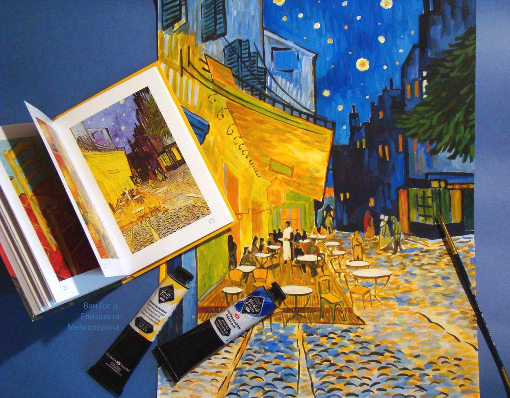 мастер-класс по живописи, холст краски картина