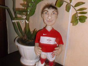Футболист | Ярмарка Мастеров - ручная работа, handmade