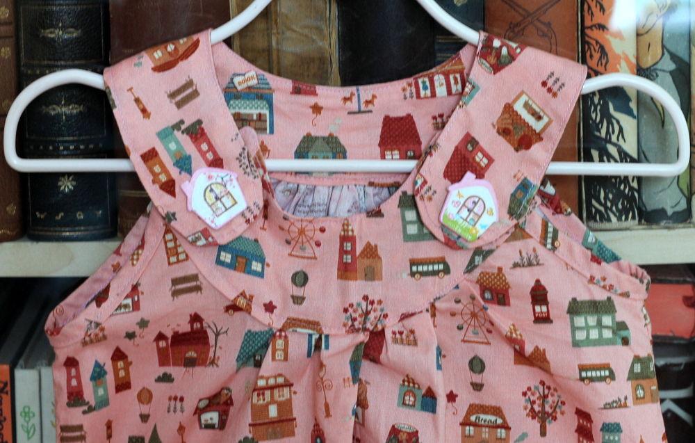 платье, платье для дочери, журнал, журнал бурда, городок, карелия