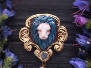 Новинка!!!Морской лев- покровитель шторма.Брошь из полимерной глины. Ярмарка Мастеров - ручная работа, handmade.