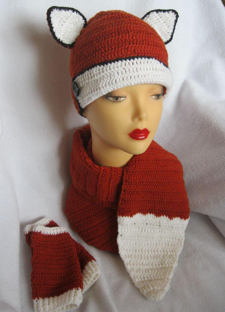 комплект для девочки, шапка вязаная, шарф хвост, осенняя шапка