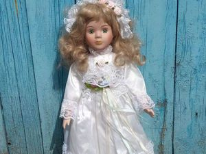 Аукцион на фарфоровые куклы   Ярмарка Мастеров - ручная работа, handmade