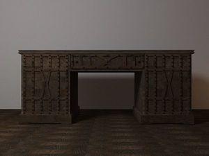 Моделирование письменного стола из массива. Ярмарка Мастеров - ручная работа, handmade.
