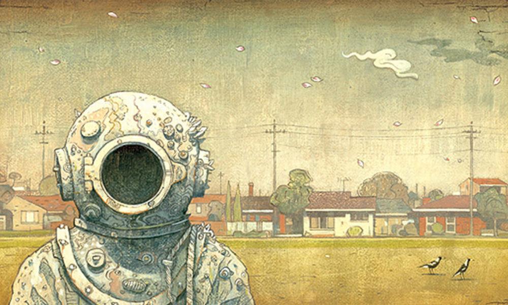 Ожившие вещи в иллюстрациях Шона Тана