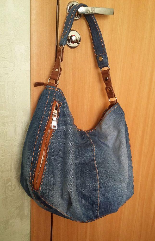 сумка джинсовая, джинсовая сумка