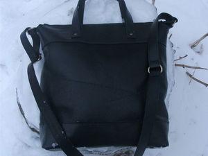 Классическая женская сумочка, цвет черный 3 | Ярмарка Мастеров - ручная работа, handmade