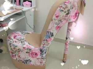 наложенный платеж кресла-туфельки со склада.. Ярмарка Мастеров - ручная работа, handmade.
