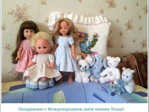 Международный день мишки Тедди. Ярмарка Мастеров - ручная работа, handmade.