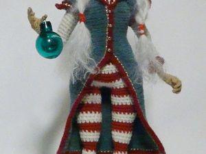 Рождественская эльфочка. Ярмарка Мастеров - ручная работа, handmade.