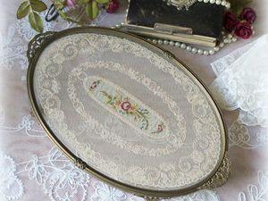 Дополнительные фотографии подноса для дамского столика. Ярмарка Мастеров - ручная работа, handmade.