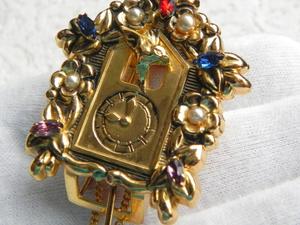 Видео. Фур-клип Часы с кукушкой, CORO Pegasus, США. Ярмарка Мастеров - ручная работа, handmade.