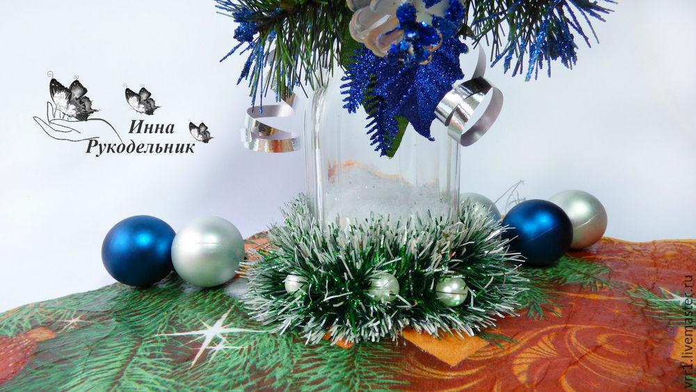 подсвечник, рождество, своими руками, diy