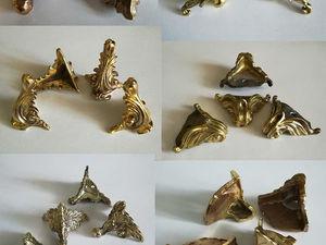 Формирование предзаказа на ножки из бронзового литья и накладки. Ярмарка Мастеров - ручная работа, handmade.