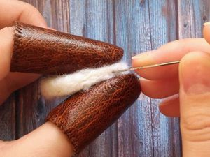 Мастерим напальчники для валяния: видеоурок. Ярмарка Мастеров - ручная работа, handmade.