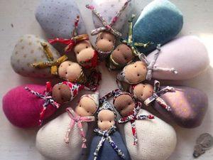 Вальдорфская куколка — милое и простое чудо для вашего малыша. Ярмарка Мастеров - ручная работа, handmade.
