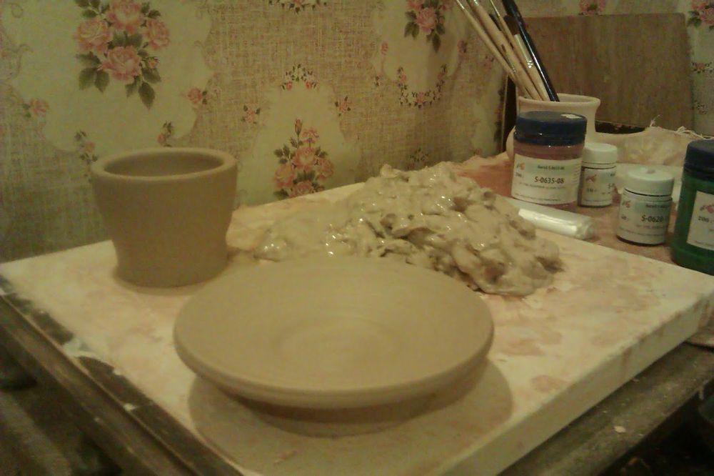 посуда ручной работы