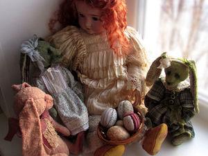 Пасхальные кролики - Марта, Адель и Мэй. Анонс.. Ярмарка Мастеров - ручная работа, handmade.