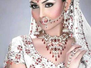 Сказочные ювелирные украшения женщин Индии. Ярмарка Мастеров - ручная работа, handmade.