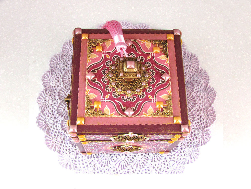 шкатулка для украшений, старинный стиль