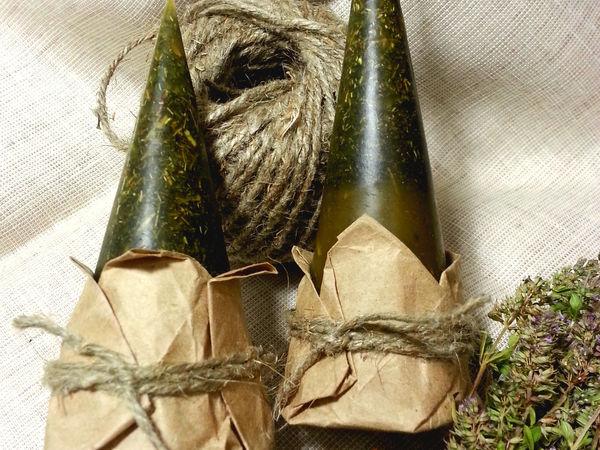 Травяные свечи в Тайнике. | Ярмарка Мастеров - ручная работа, handmade