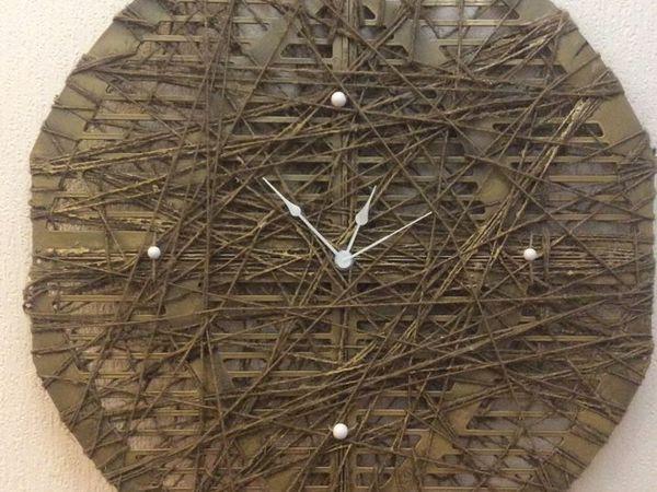 часы своими руками | Ярмарка Мастеров - ручная работа, handmade