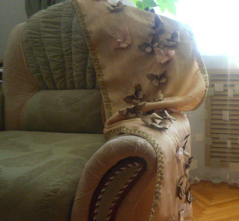текстиль в интерьере, салфетки