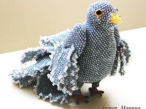 Коллекция птиц из бисера | Ярмарка Мастеров - ручная работа, handmade
