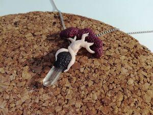 Лепим кулон из полимерной глины. Ярмарка Мастеров - ручная работа, handmade.