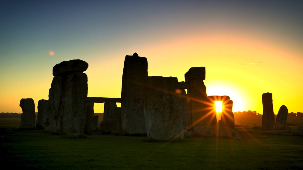 a look at the famous monument in england stonehenge Stonehenge was the centre of ancient britain, according to a study which claims the monument symbolised the unification of eastern and western communities.