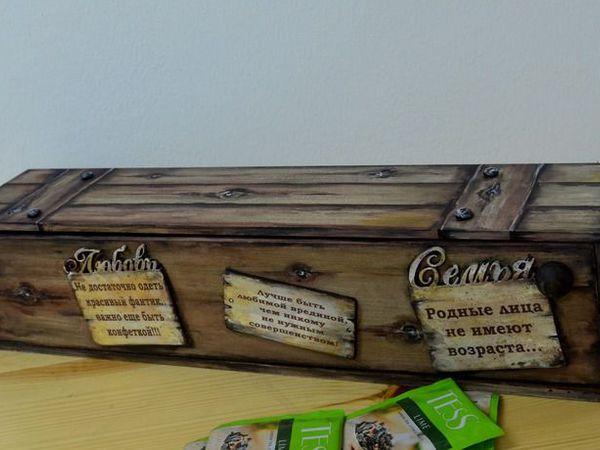 Иллюзия деревянного сейфа | Ярмарка Мастеров - ручная работа, handmade