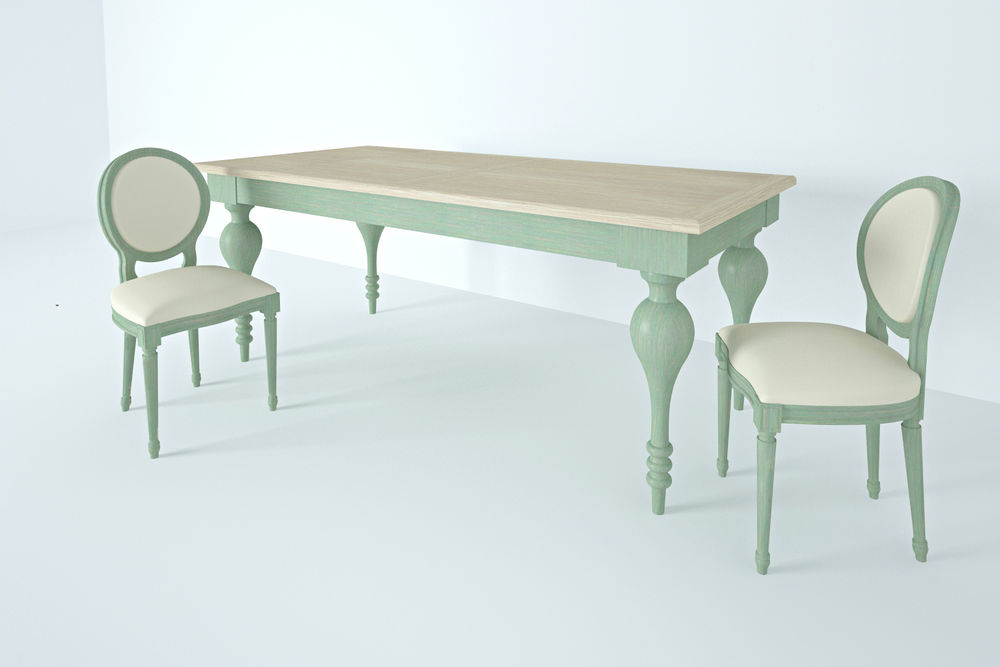 стол цветной