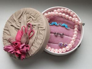 Мастер-класс по созданию шкатулки для хранения украшений. Ярмарка Мастеров - ручная работа, handmade.