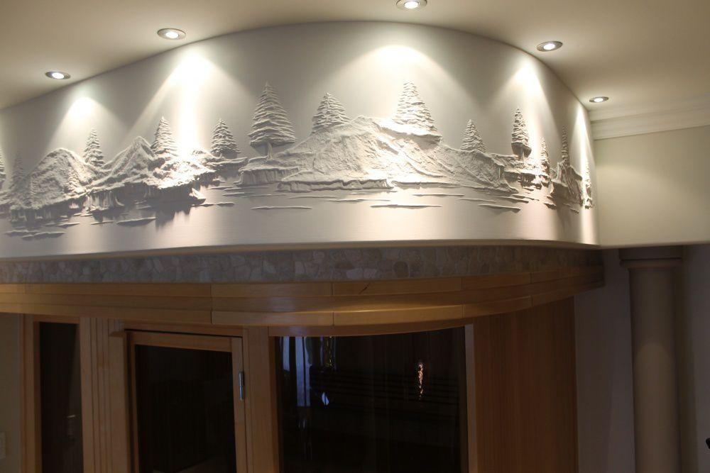 Bernie Mitchell: превращение скучных стен в произведение искусства, фото № 6